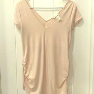 Tops - H&M pink size medium maternity shirt.